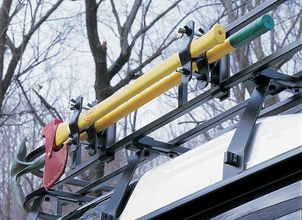 Roof Rack - Axe And Shovel Bracket