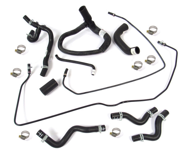 Coolant Hose Kit For Range Rover P38, BOSCH Engine Vehicles 1999 - 2002