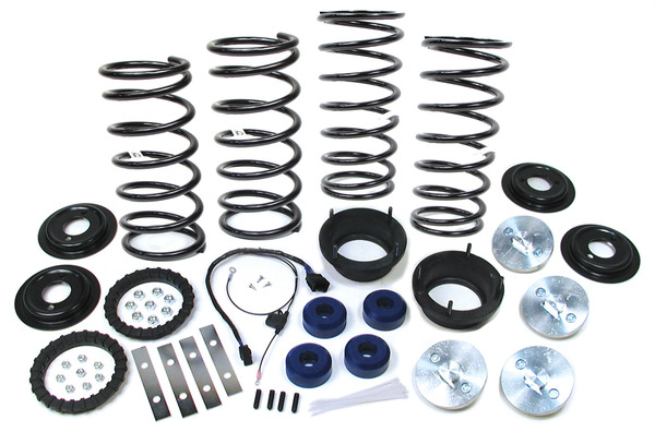Standard Profile Air Suspension To Coil Spring Conversion Kit With EAS Override Harness And Old Man Emu Springs