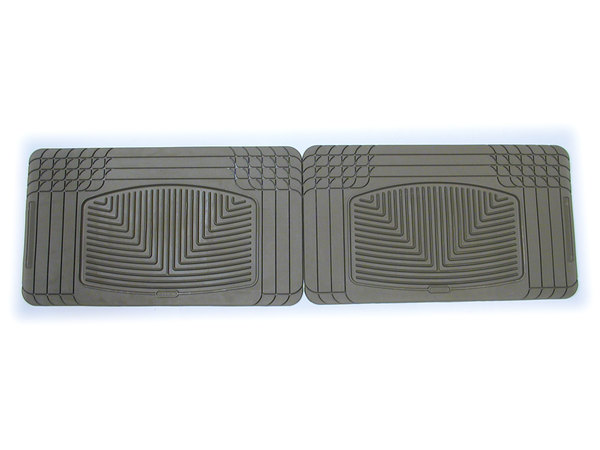 Weathertech® Classic Premium Rubber Floor Mats - Rear Footwell - Tan