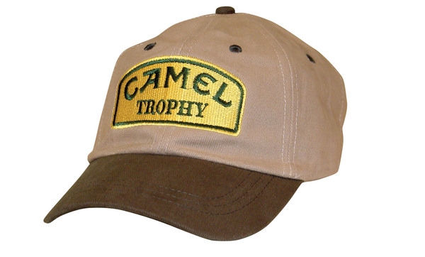 Hat - Embroidered - Camel Trophy Logo - Yellow
