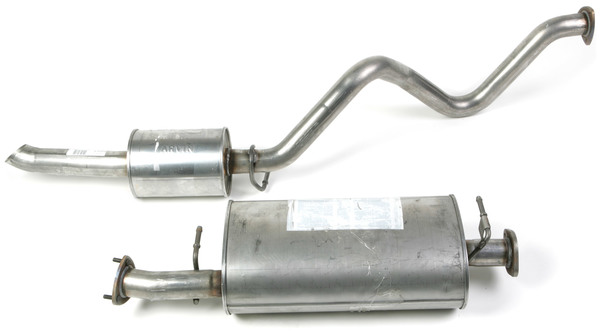 Genuine Cat-Back Exhaust System, For Land Rover Discovery II, 1999 - 2003