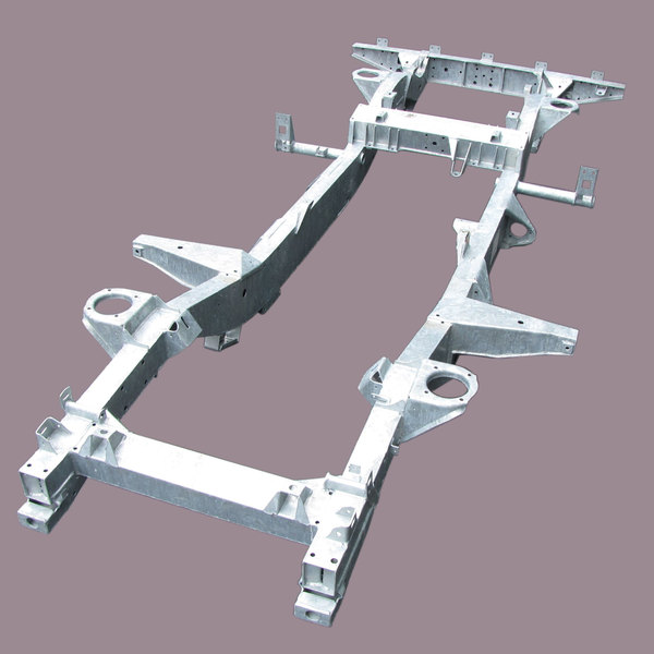 Chassis For Defender 90, North American Spec, Galvanized