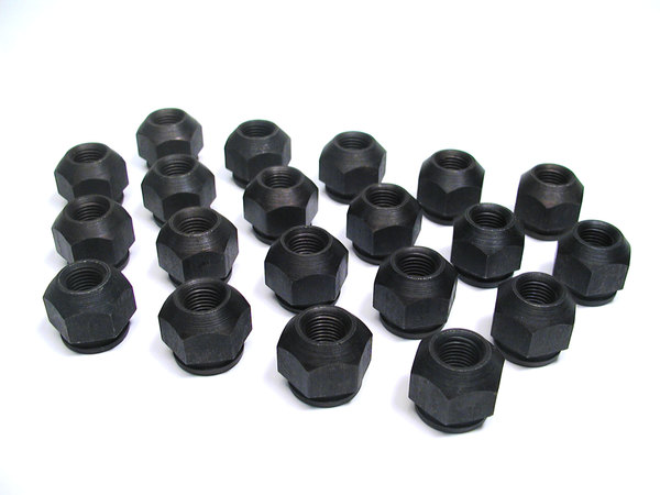 Lug Nuts, Set Of 20, For Steel Wheels On Land Rover Discovery Series 2 And Range Rover P38