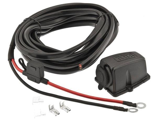 ARB Refrigerator Wiring Kit And Threaded Socket
