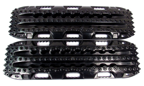 ActionTrax Off-Road Recovery Boards And Track System, Black, Pair