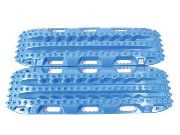 ActionTrax Off-Road Recovery Track System, Blue - Pair