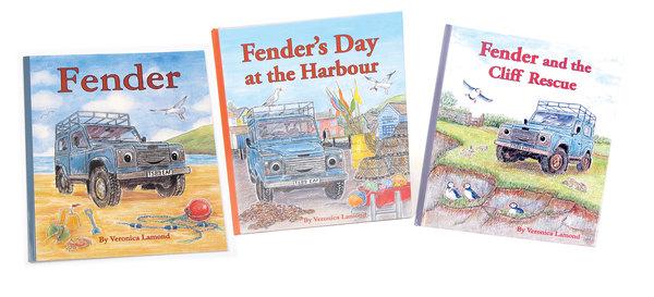 Books: Fender Series, Children's Land Rover Defender Storybooks (Set Of 3 Books)