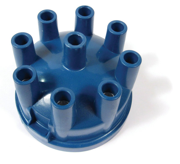 Distributor Cap, Blue Powerspark For Land Rover Discovery 1 1994 - 1995, Defender 90 And 110, And Range Rover Classic