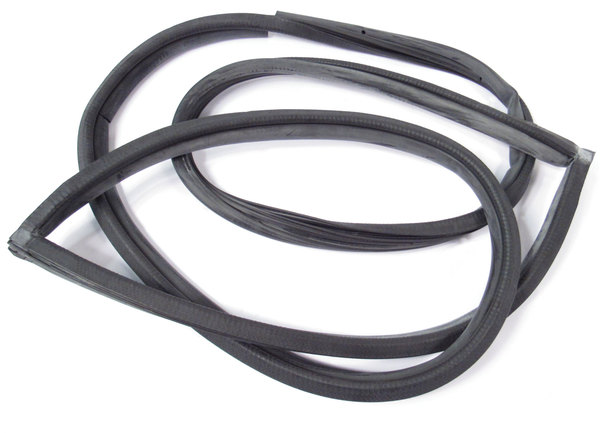 Door Seal, On-Body, Left Hand Rear, Black, For Land Rover Discovery I And Discovery Series II