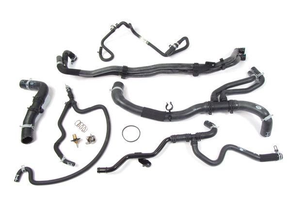coolant hoses and thermostat