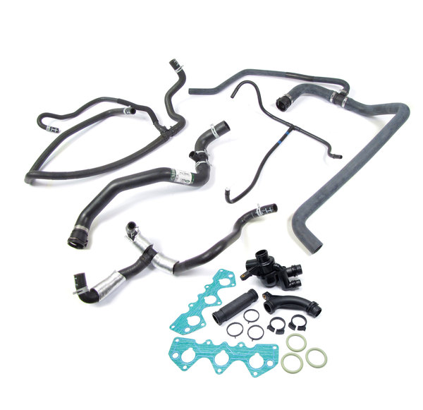 coolant hose and thermostat kit