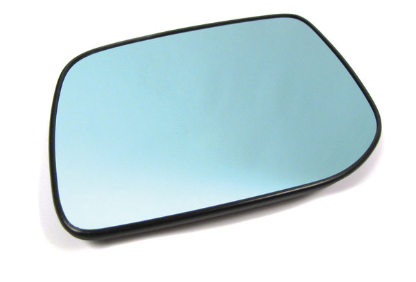Genuine Side Mirror Glass CRD000380, Left Hand Convex Non-Electrochromatic, For Range Rover P38, 1999 - 2002