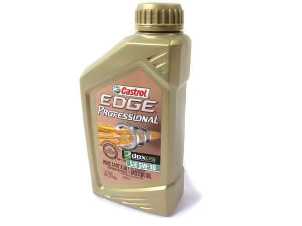 Engine Motor Oil, Castrol Edge Professional Fully Synthetic SAE 5W-30, 1 Quart, For Land Rover LR3, Discovery 5, Discovery Sport, Range Rover Sport, Range Rover Full Size, And Range Rover Evoque (See Fitment Years)