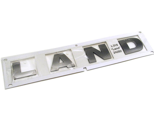 LAND decal