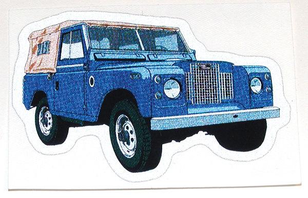 Land Rover Series IIA decal