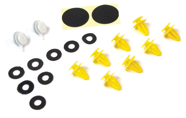 windshield A pillar exterior trim panel retainer repair kit