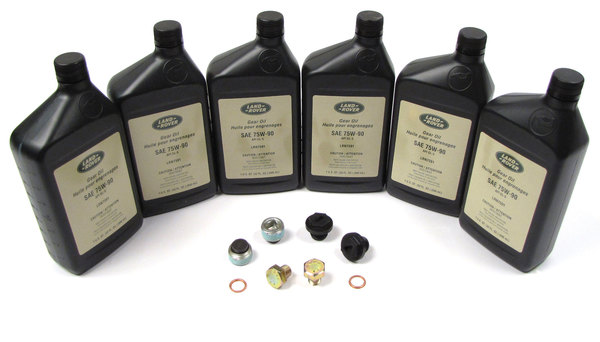 Differential and Transfer Case Fluids