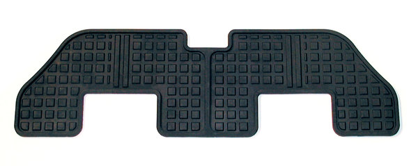 Genuine Floor Mat, 3rd Row, Black Rubber, For Land Rover LR3 And LR4