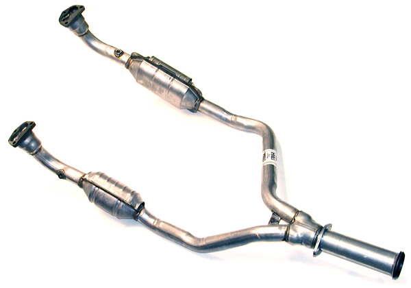Catalytic Converter, Y-Pipe For Long Wheelbase Vehicles (LWB) On Range Rover Classic, 1993 - 1995