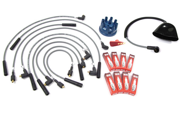 Spark Plug, Ignition Wire & Distributor Cap Service Tune Up Kit