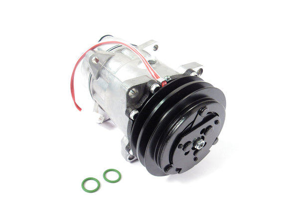 New A/C Compressor Assembly By Nissens, For Range Rover Classic (See Fitment Years)