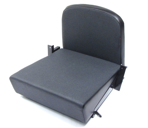 Inward Facing Tip Up Seat Black