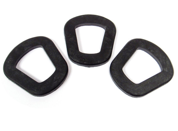 Jerry Can Gaskets (Pack Of 3), Replacement Seals For NATO 10 Liter & 20 Liter Cans And Spouts, European Military Spec By VALPRO