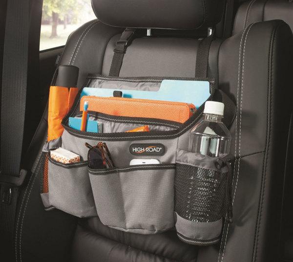 High Road SwingAway Car Seat Organizer: Gray