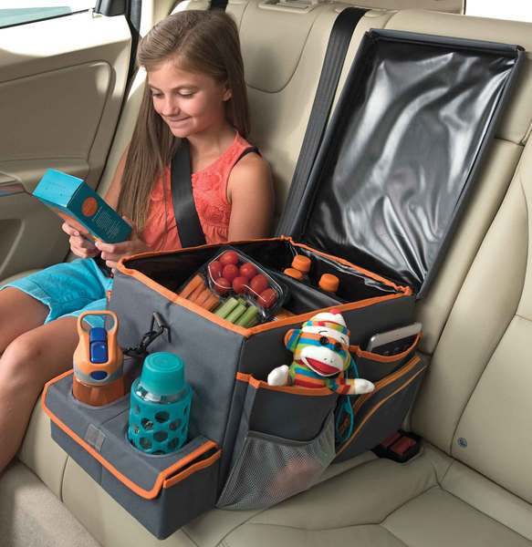 High Road Kids Back Seat Cooler & Play Station: Large