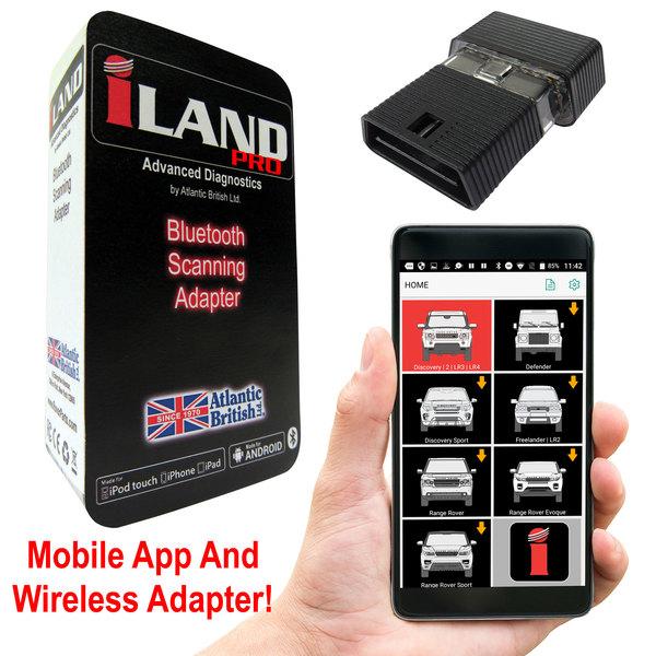 iLAND Pro Diagnostic App