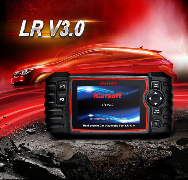 iCarsoft Multi-System Diagnostic Tool LR V3.0 For Land Rover And Range Rover Vehicles