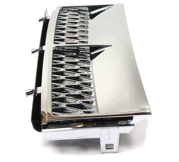 Vent Fender Grille - Left Front - Chrome
