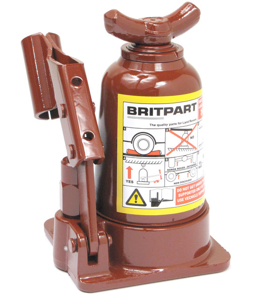 Replacement Bottle Jack, OEM-Style LR031924 By Britpart, For Land Rover Discovery I, Discovery Series II, Defender 90, Range Rover P38, And Range Rover Classic
