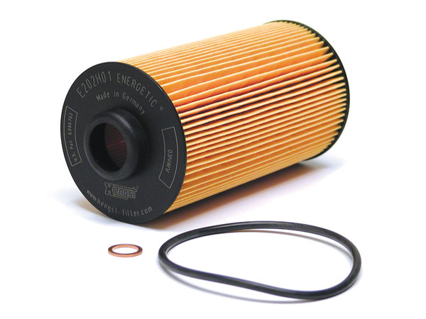 cartridge style oil filter kit