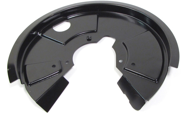 Brake Backing Plate Dust Shield LR017961, Left Rear, For Land Rover Discovery I And Defender 90 (See Fitment Years)