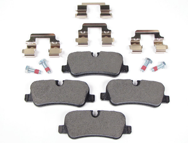 Rear Brake Pads LR019627 By Textar For Land Rover LR3, Range Rover Sport, And Range Rover Full Size L322 (See Fitment Years)