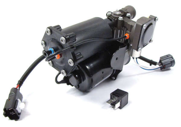 Air Suspension (EAS) Compressor LR025111 By Hitachi For Range Rover Full Size L322, 2006 - 2012