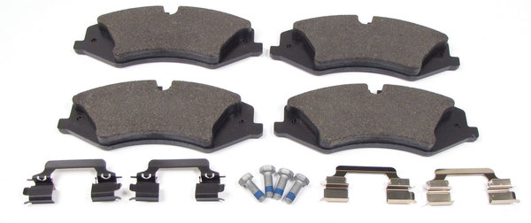 (4) brake pads and hardware - LR026221G