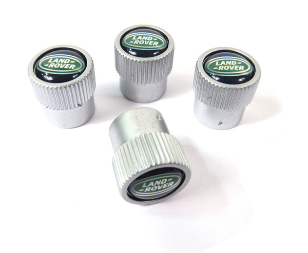 Land Rover tire valve caps