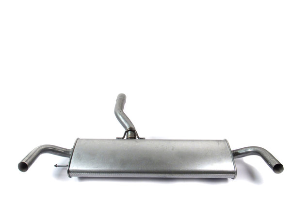Muffler With Tailpipe