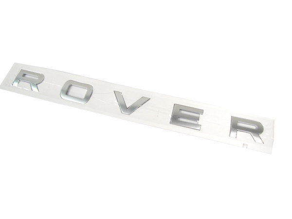 Genuine Rear Door Replacement Decal, 'Rover' Text, For Range Rover Sport, 2014-2016