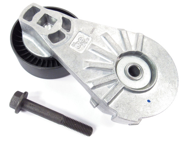 Tensioner Assembly For Driver Belt By URO On Land Rover LR4, Range Rover Full Size, And Range Rover Sport (See Fitment Years)