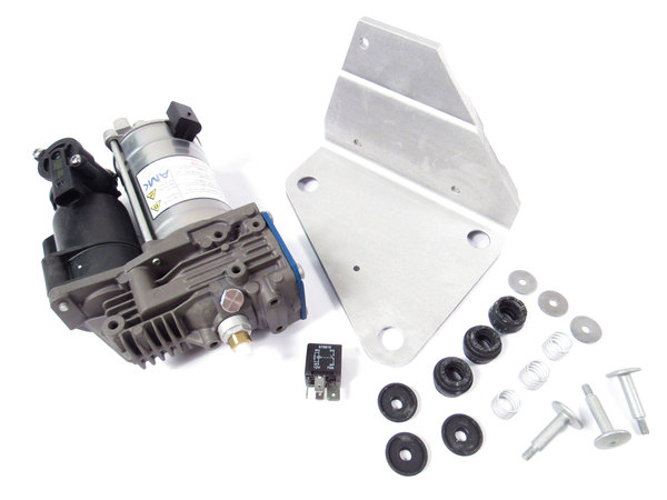 Compressor Assembly, Electronic Air Suspension (EAS), On Land Rover LR3, LR4 And Range Rover Sport, AMK Programmed Vehicles Only (See Fitments)