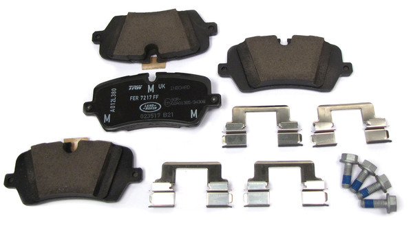 Genuine Rear Brake Pads LR106326 For Land Rover Discovery 5, Range Rover Sport, And Range Rover Full Size L405 (See Fitment Years)