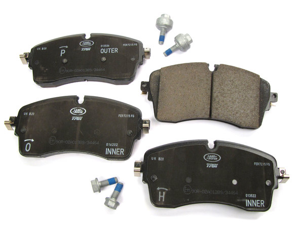 Genuine Front Brake Pads LR110409 For Land Rover Discovery 5, Range Rover Sport, And Range Rover Full Size L405 (See Fitment Years)