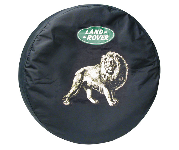 Genuine Wheel Cover For Spare Tire With Land Rover Logo (Lion Design) For And Rover Discovery I And Discovery Series II