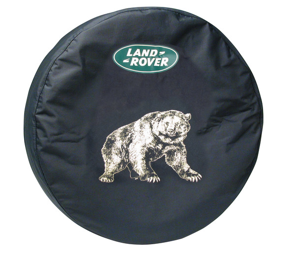 Genuine Wheel Cover LRN50255 For Spare Tire With Land Rover Logo (Bear Design) For Land Rover Discovery I And Discovery Series II
