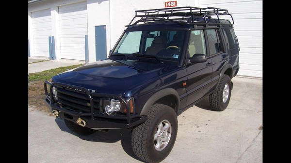Overland Roof Rack, Standard Height, By Voyager Offroad, For Land Rover Discovery Series II