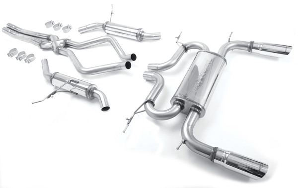 Range Rover Performance Stainless Steel Exhaust System By MagnaFlow: Cat-Back, Dual-Exit / Twin-Tip
